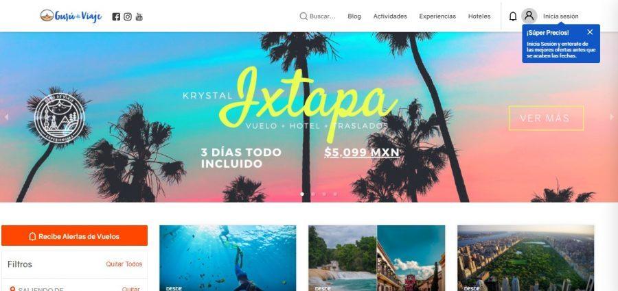 homepage guru de viaje