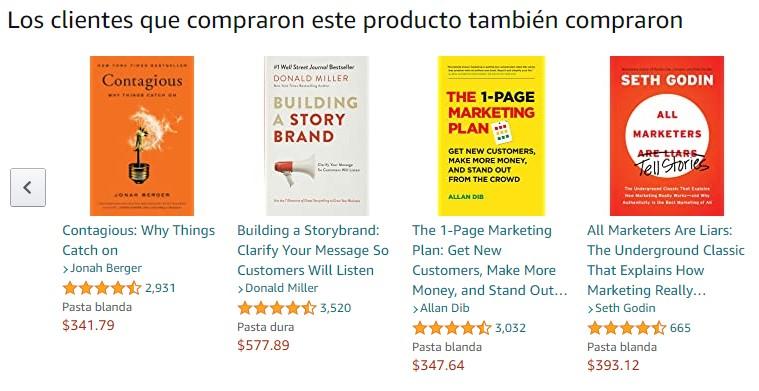 amazon mexico recomendados