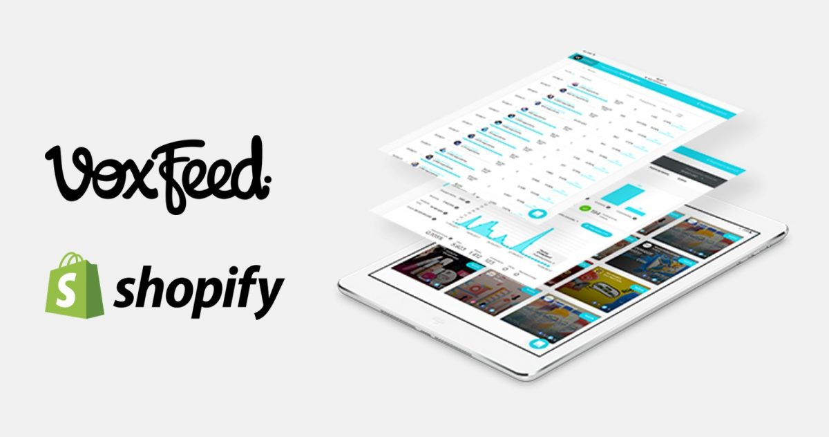 voxfeed shopify integration