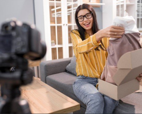 unboxing video haul